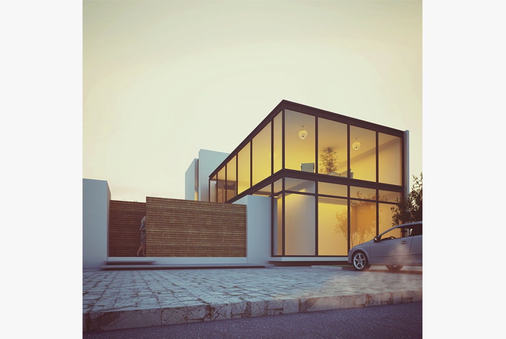 GLASS BOX HOUSE